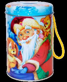 Подарок Деда Мороза (копилка)